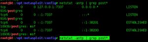 1 - Configurar Metasploit + PostgreSQL