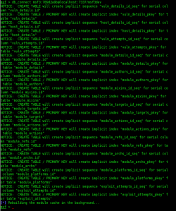 4 - Configurar Metasploit + PostgreSQL